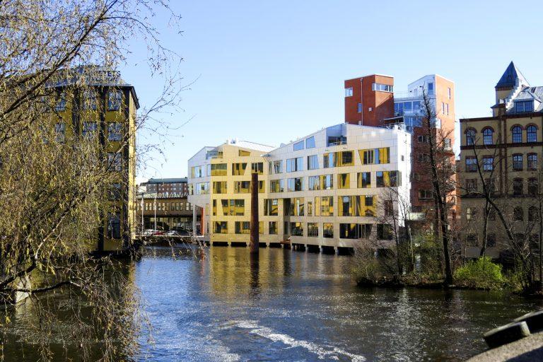 Bostadshuset Katscha i Norrköping
