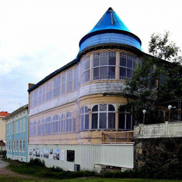 Marstrands turisthotell från 1800-talet